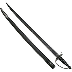 Blackbeard Pirate Sword - includes scabbard 38&quot;
