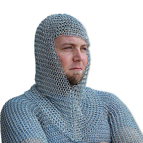 16-gauge Chain Mail Hood