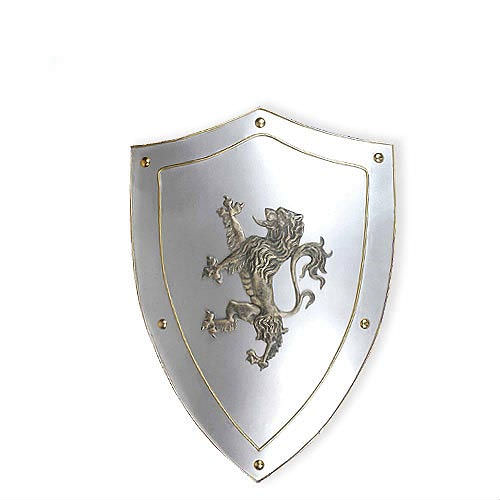 "Royal Lion Medieval Metal Shield 24 3/4"" (tall)"