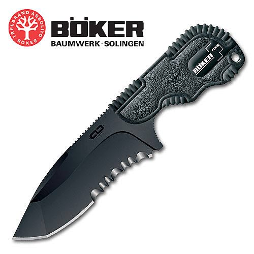 Boker Chad MPT Black Serrated Bowie Knife 6 3/4""