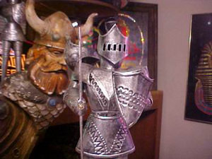 1 Foot Suit of Armor Medieval Knight