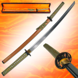 Premium Handmade Forged Steel Samurai Sword 40 5/8""