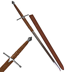 William Wallace Silver double edged Braveheart Sword 51""