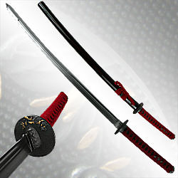 Double Edge Samurai Katana Sword - 41""