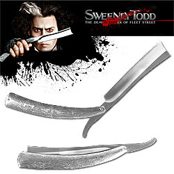 Huge Sweeney Todd Replica Straight Razor Knife 10 1/2""