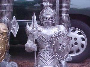 2 Foot Suit of Armor Medieval Knight