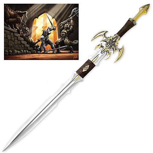 Kit Rae Exotath Gold Limited Edition Sword 44 3/4""