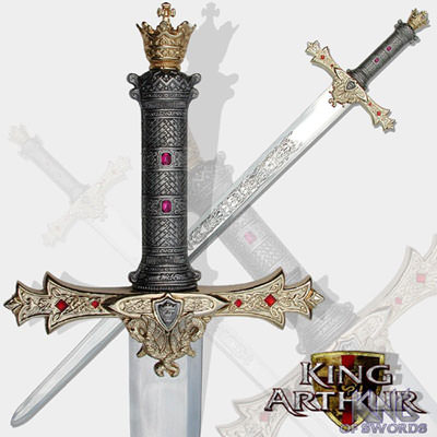 King Arthur's Excalibur Series II with Sheath 44 1/2""