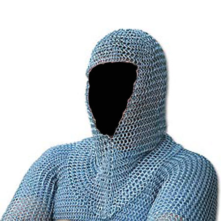 Chain Mail Shirt with Hood (16-gauge)