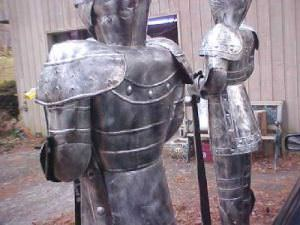 7 Foot Suit of Armor Medieval Knight