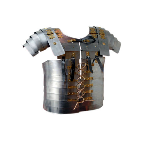 Lorica Segmentata Chest Guard Gold