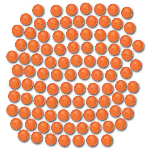Orange Blowgun Paintballs 100 Count