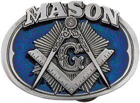 Belt Buckle Masonic