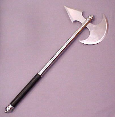 Executioner's Armor Piercing Chrome Axe 28""