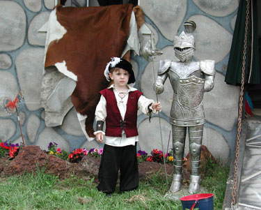 3 Foot Suit of Armor Medieval Knight