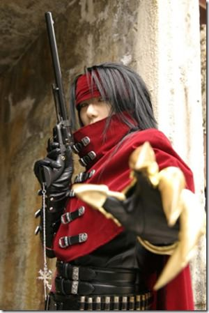 Cosplay Clothes on Final Fantasy Vii Vincent Valentine Cosplay Costume