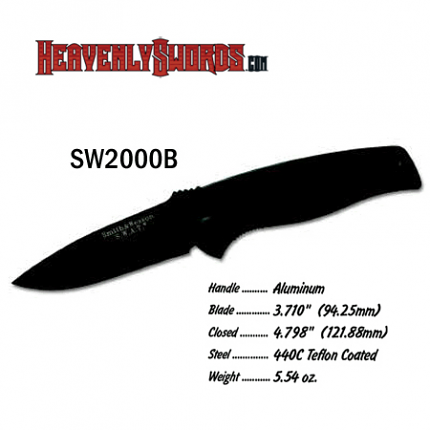 S&W Large SWAT Black Regular Blade