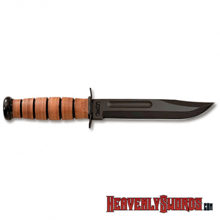 USMC - Straight Edge - Leather Sheath