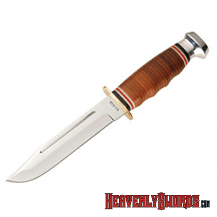 Leather Handled Marine Hunter