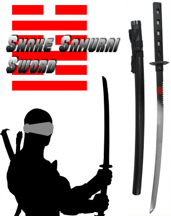 "Snake Samurai Sword 42"" (Limited Production)"