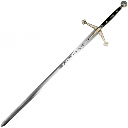 Whetstone Colossal Royal Claymore Mathews Sword - 56 1/2""