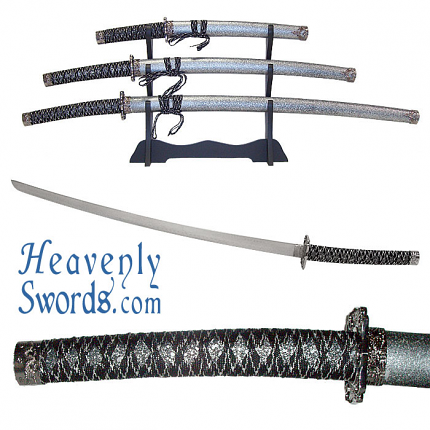 Heavy Duty Samurai Sword Set