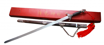 Spring Steel Chinese Exorcist Tai Chi Sword Martial Art Jian