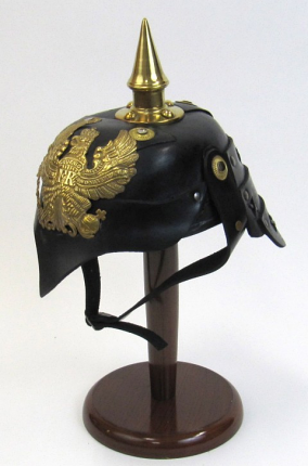 German Stahlhelm Eagle Helmet with Picklehaube Spike