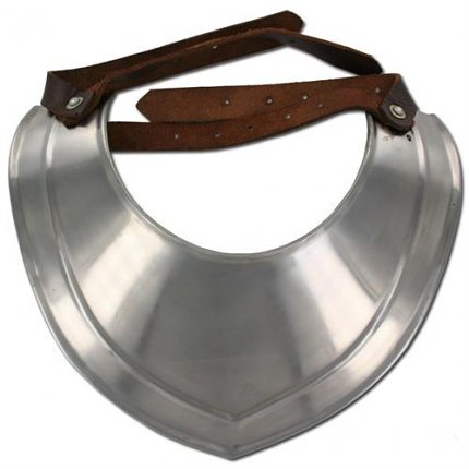 Knights Templar Gorget Neck Plate Armor