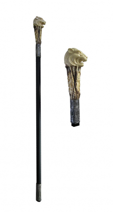 Lion Cane Sword Walking Stick 37""