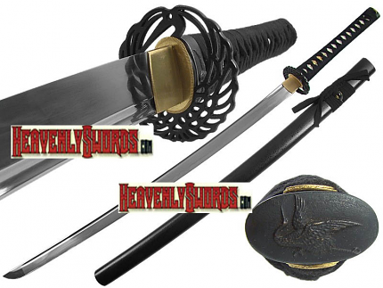 Ten Ryu Forged Dancing Crane Katana 40""
