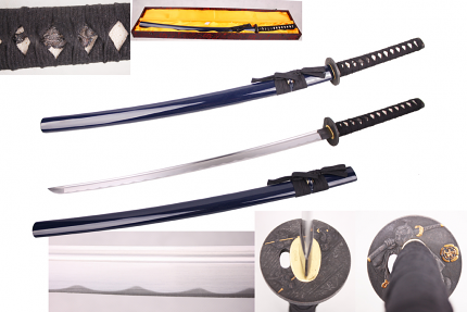 Musashi Battle Ready Hand Honed Sword 39 3/4""