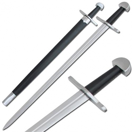 Authentic Battle Ready Viking Long Sword 36 1/2""