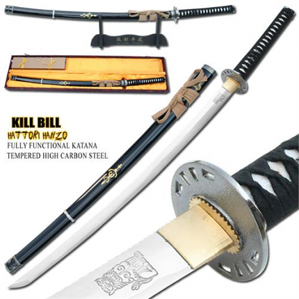 Musashi Kill Bill Brides Sword 1045 Carbon Steel 40""