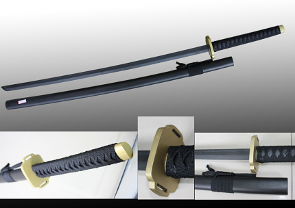 Wooden Samurai Sword 51 1/2""