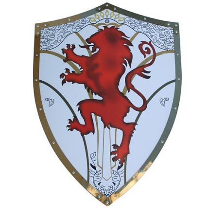 Medieval Knight Crusader The Lionheart Shield Armor 25""