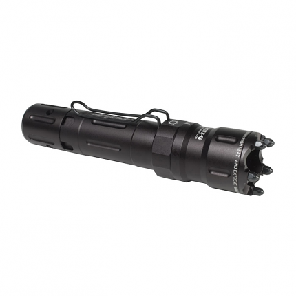 Dark Ops Hellfighter - X 15 6V Tactical Light w/ Glass Breaker Bezel - 15