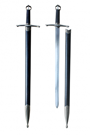 Irish War Sword with Scabbard 35""