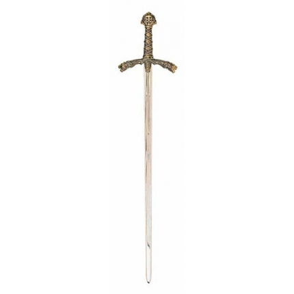"""Gold Trimmed King Richard The Lion Heart 12Th Century Sword 41 1/4"""""""