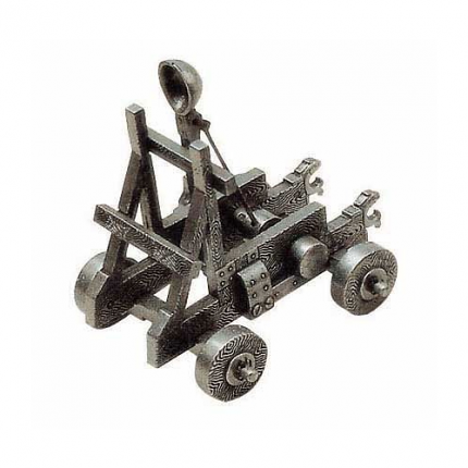 Fully Functional Medieval Miniature Catapult 5""
