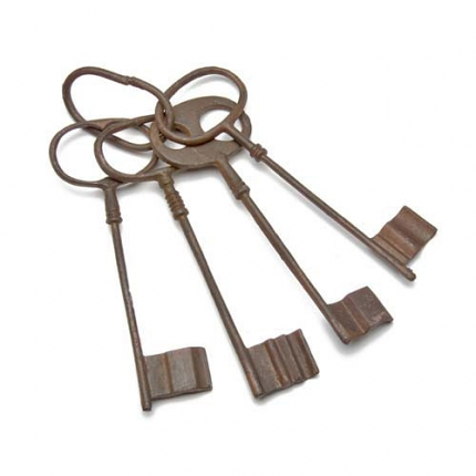 Medieval Replica Dungeon Keeper's Keys