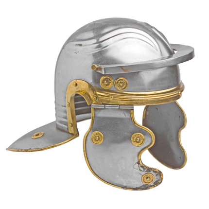 Roman Trooper Carbon Steel Guard Helmet
