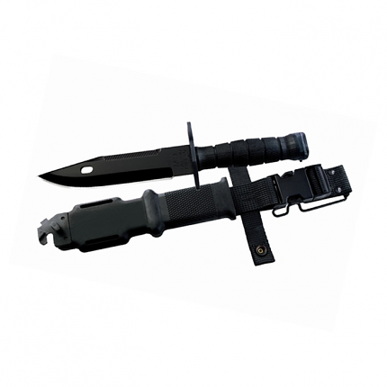 M9 Bayonet and Scabbard Black