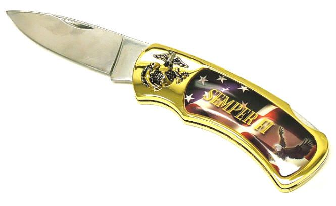 12-USMC Semper Fi Collector Knife C655SFdz