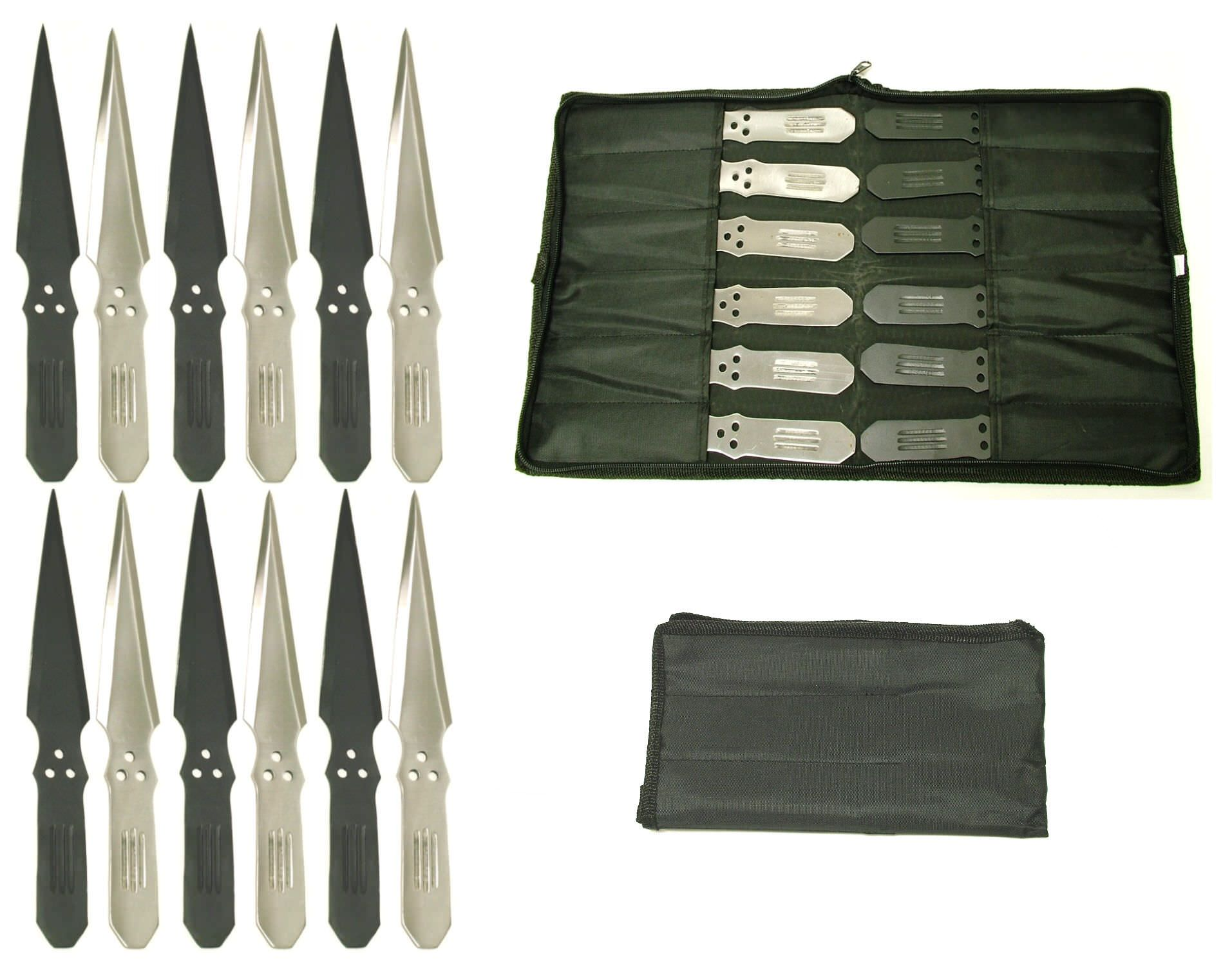 12 Pc Set Throwing Knives PAK56-12