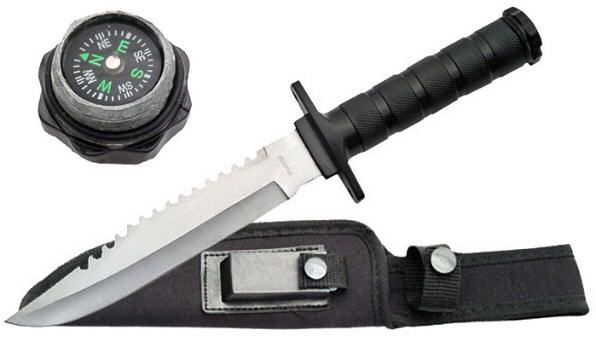 12in Military Survival Knife 210681BK