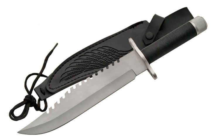 13in Rambo Style Survival Knife 210883SL