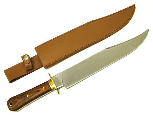17in Coffin Handle Bowie Knife H3090