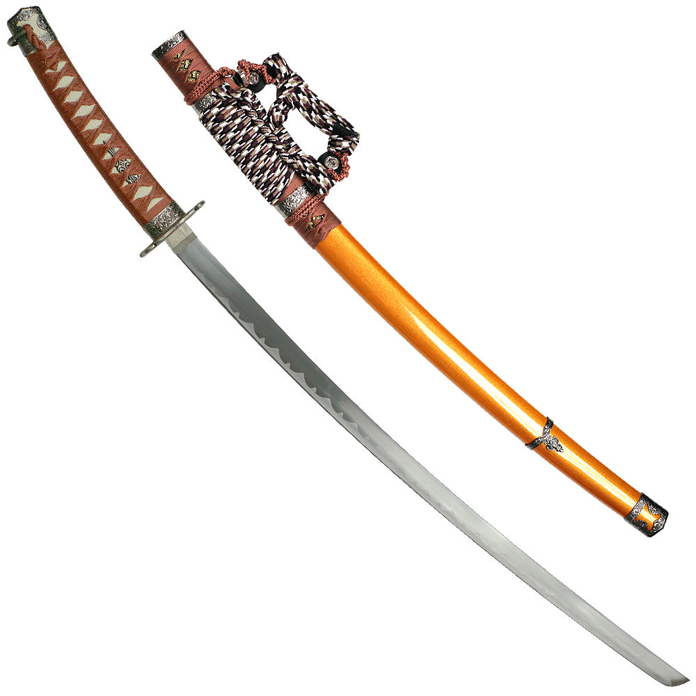 Gold Jintachi Japanese Samurai Swords Series - 39 ...