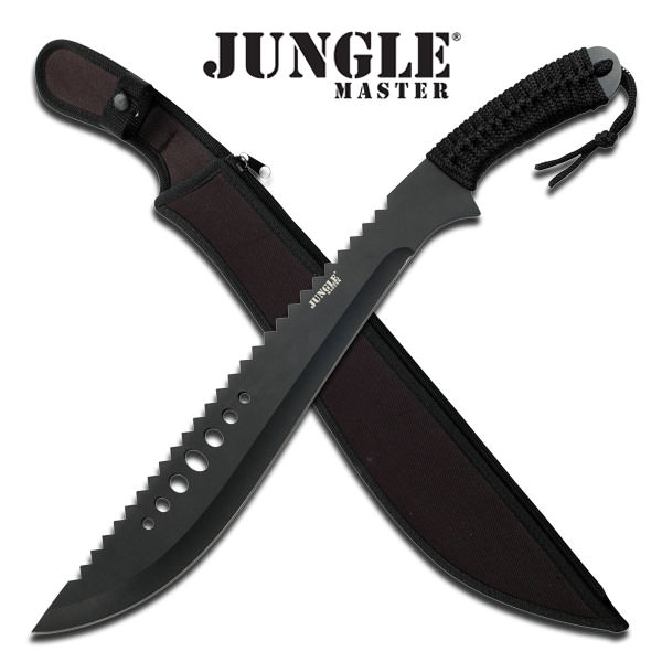 21in Jungle Master Saw Back Machete JM031B